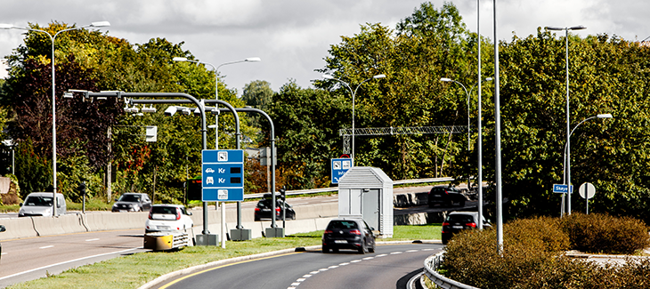 Toll station E18 Skøyen